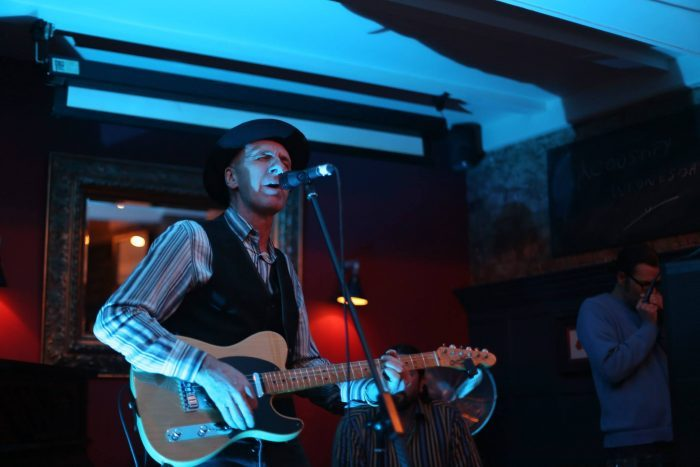 Jim Preen Soul Set: Short notice gig at the Bonnington Centre,Vauxhall